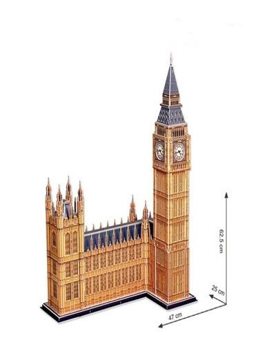 Cubic Cubic Fun 3D 117 Parça Puzzle Big Ben Saat Kulesi Renkli